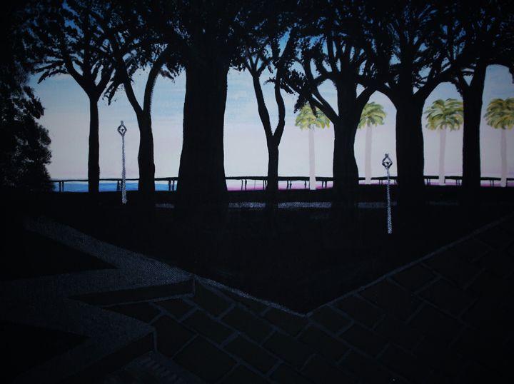 A day in Charleston - Bhean Spiorad Art