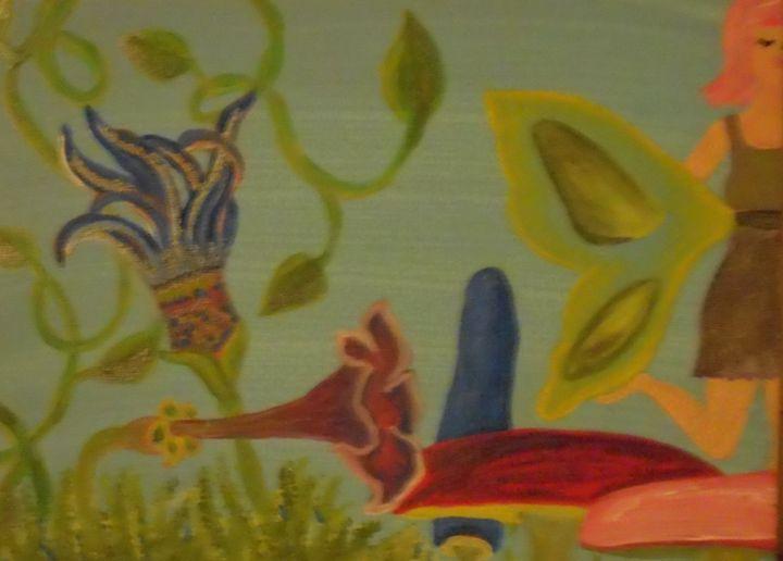 In the Garden - Bhean Spiorad Art