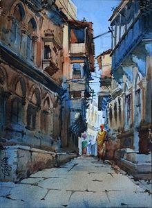 Banaras alley