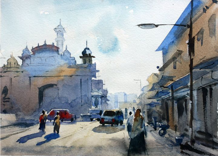 Ajmer market - On the spot landscapes