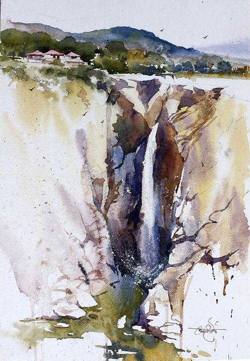 Jog Falls - On the spot landscapes