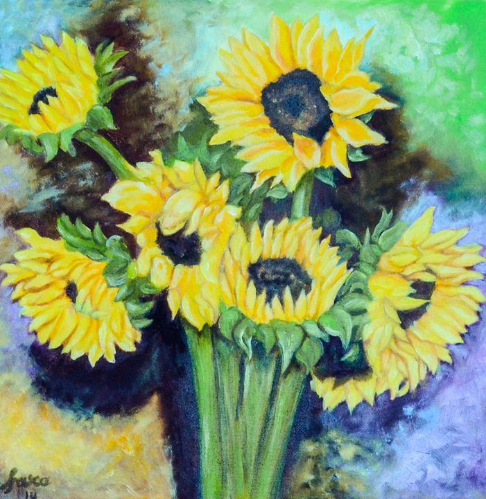 Sunflowers - Farah's Art