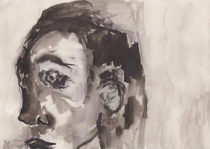 Face in a crowd - Charlotte Daisy Fine Art