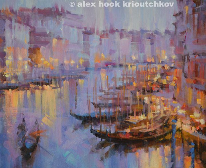 Venice at night III - Alex Hook Krioutchkov