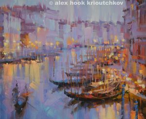 Venice at night III - Alex Hook Krioutchkov