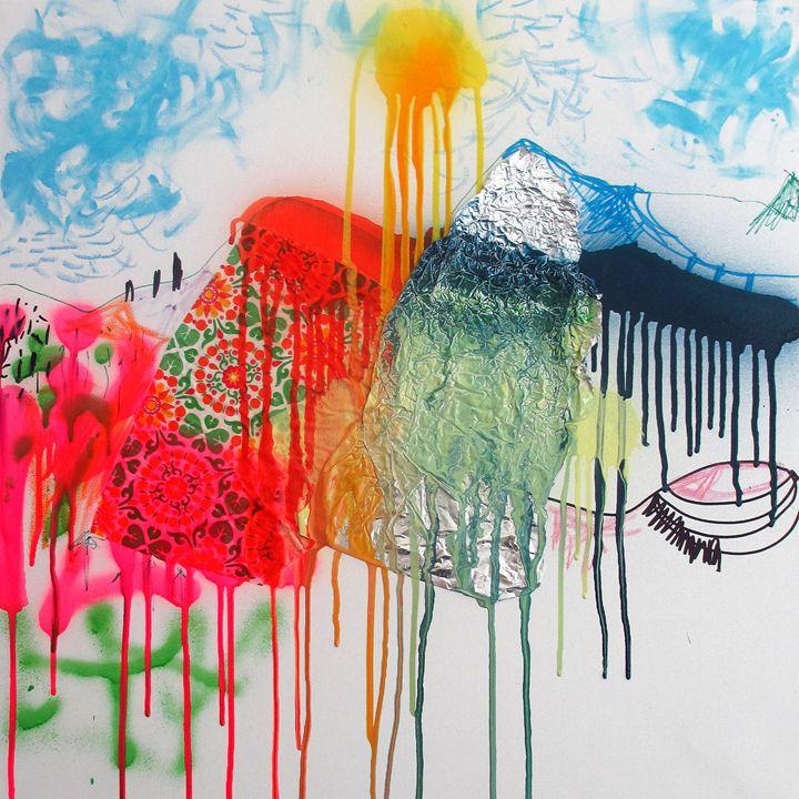 Summer Landscape - Serena Rossi's contemporary art