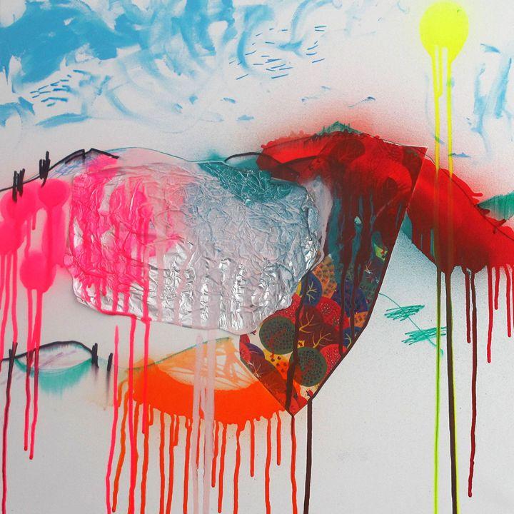 Country Landscape - Serena Rossi's contemporary art