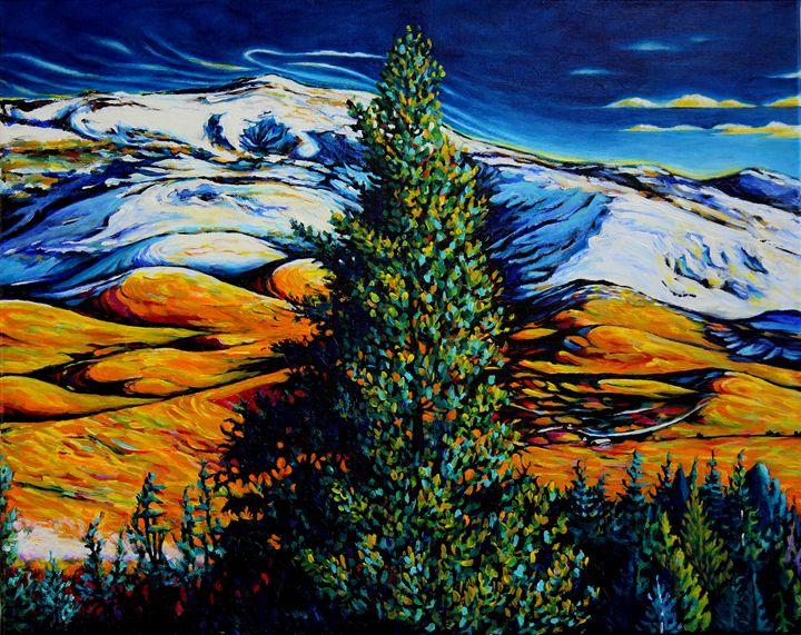 Grizzly Peak - Mid Winter Panel 2 - Greg Thweatt