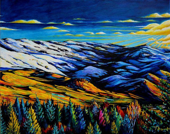 Grizzly Peak - Mid Winter - Panel 3 - Greg Thweatt