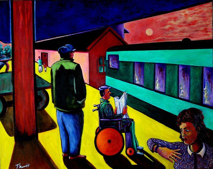 Departure, Limerick Station, Ireland - Greg Thweatt