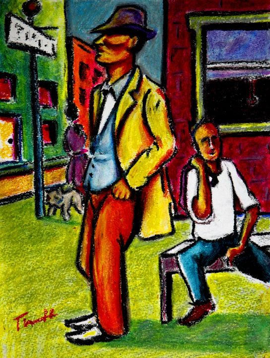 Street Scene - Greg Thweatt
