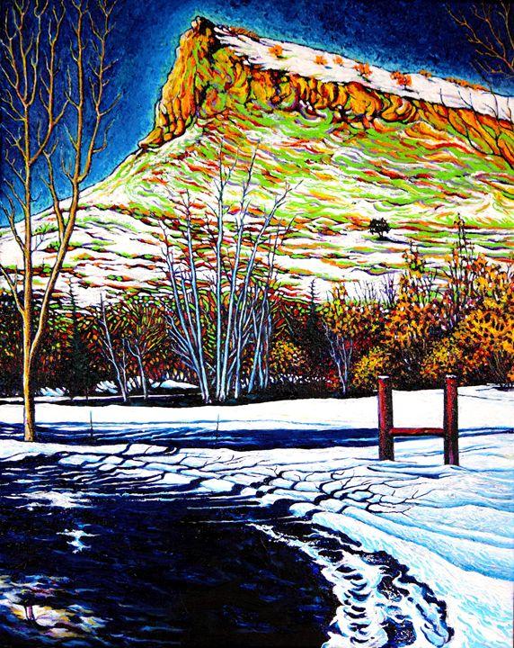 Pompadour - Winter - Greg Thweatt