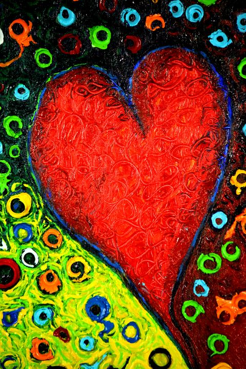 Bullet Proof Heart - close up 1 - Greg Thweatt