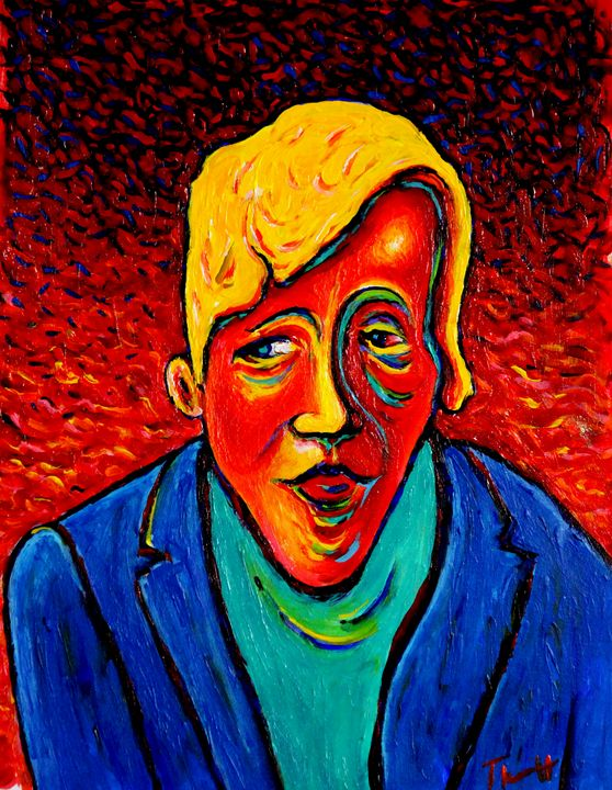 Young Man with Yellow Hair - Greg Thweatt