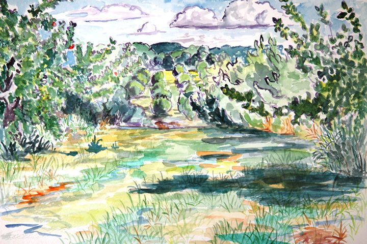 Old Orchard Looking North - Greg Thweatt