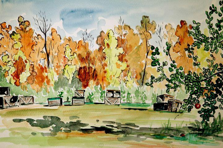 Autumn Crates - Greg Thweatt
