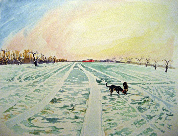 Snow Lines - Greg Thweatt