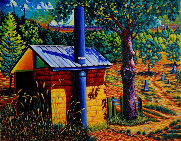 Rest Room and Old Grave Yard – Emigr - Greg Thweatt