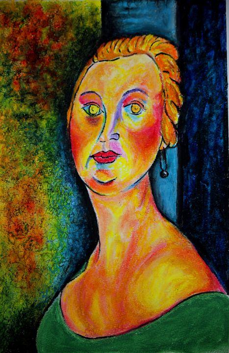 Germaine Survage after Modigliani - Greg Thweatt