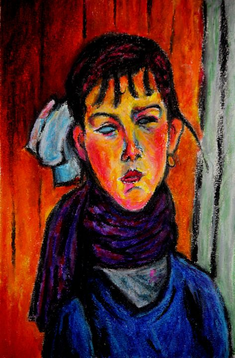 Marie after Modigliani - Greg Thweatt