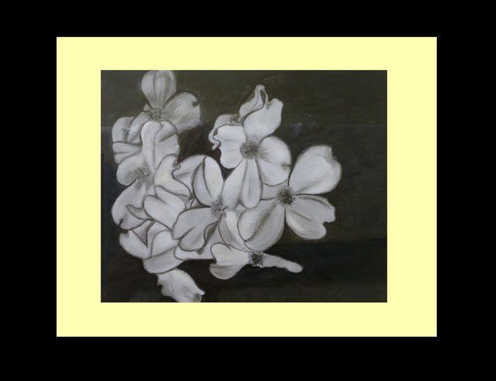 Painting Flowers - Jeni