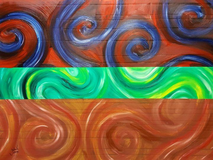 Color Swirl - John Wesley Van Horn