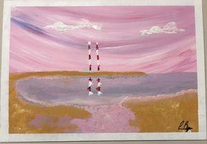 Sandymount at dusk