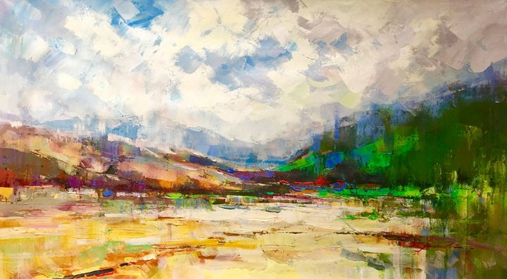 The Valley of Colors by Tom Tyler - Houshang's Gallery