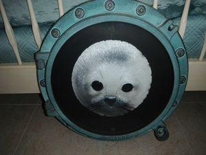 Snow Pup Porthole - Peter Lik / Wyland