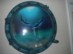 Dolphin Porthole - Peter Lik / Wyland