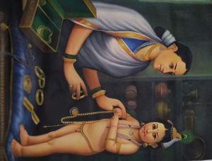 Motherly love - Kiara the artist