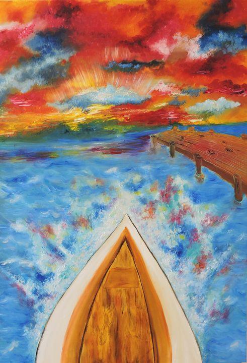 Fire Sail - Nicole Burnett