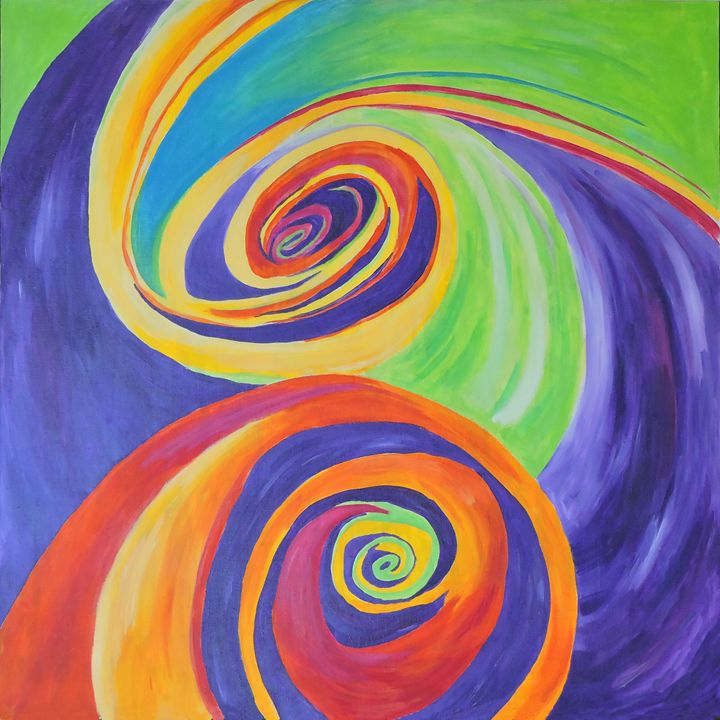 Twirls of Happiness - Nicole Burnett