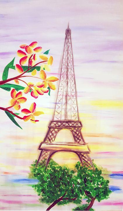 Happiness of Paris - Nicole Burnett