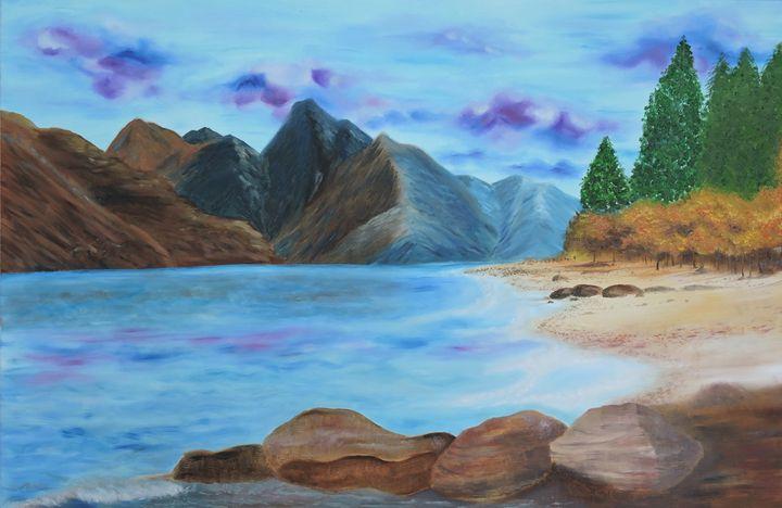 Mountain Ridge in the Fall - Nicole Burnett