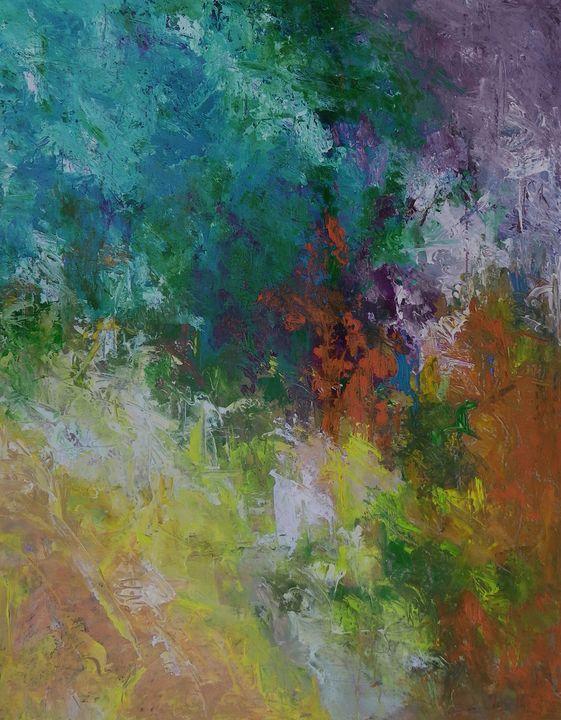 design 54  36x48 - Ron Halfant's Paintings