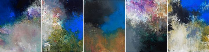 all together 5 - Ron Halfant's Paintings