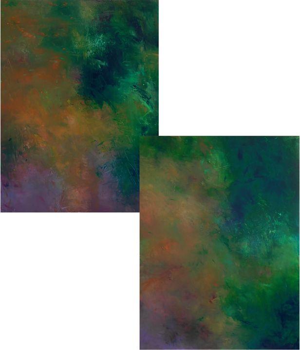 Twilight I&II - Ron Halfant's Paintings