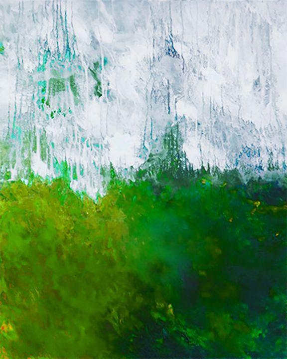 "earth5  24x30"" - Ron Halfant's Paintings"