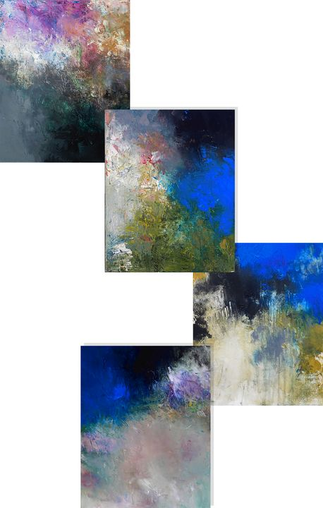 All Together ss - Ron Halfant's Paintings
