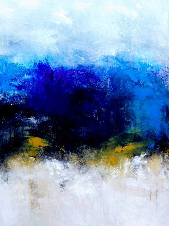 """Honesty  30x40"""" - Ron Halfant's Paintings"""