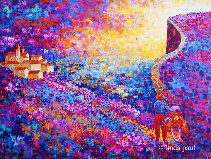 The Road Less Traveled Paintings - Linda Paul Studio