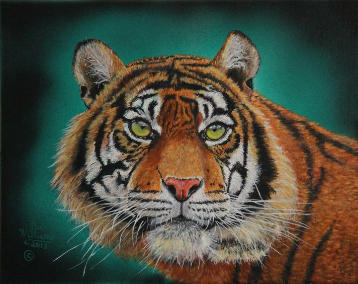 Tiger Portrait...........Amur Tiger - Bob Williams Fine Art