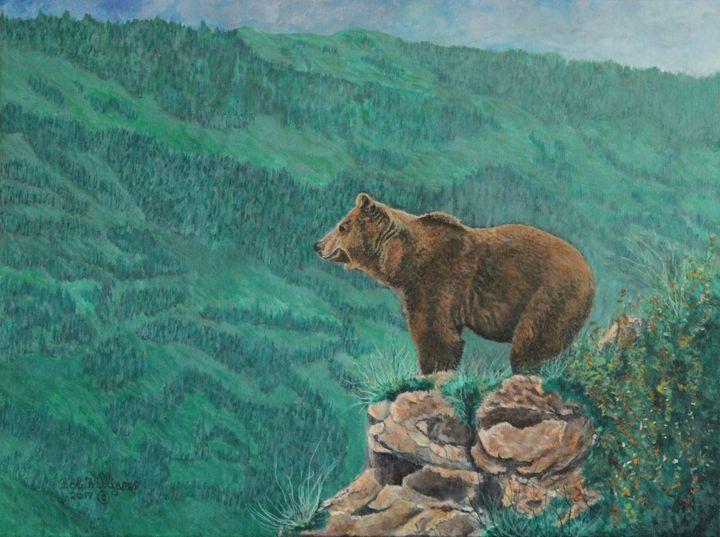 The Franklin Grizzly Bear - Bob Williams Fine Art