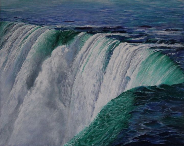 Niagara Falls The Horseshoe - Bob Williams Fine Art