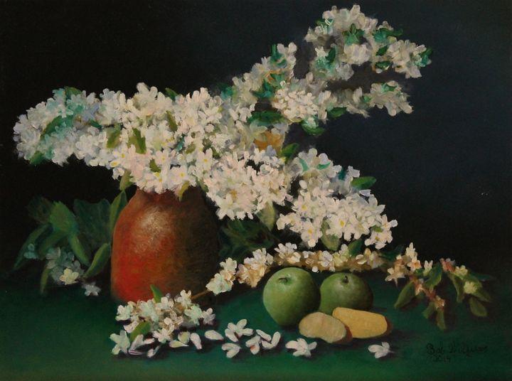 Apple Blossom Time - Bob Williams Fine Art