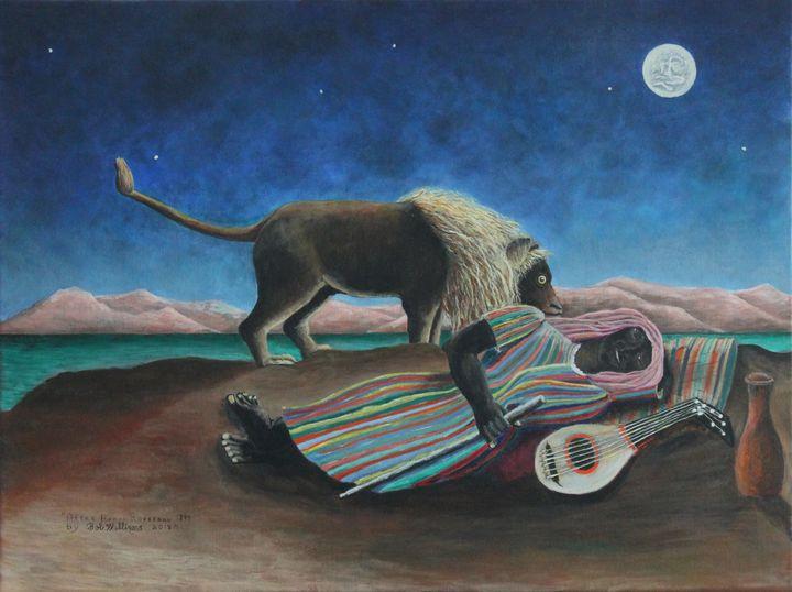 The Sleeping Gypsy - Bob Williams Fine Art