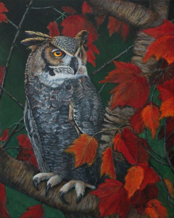 Great Horned Owl - Bob Williams Fine Art