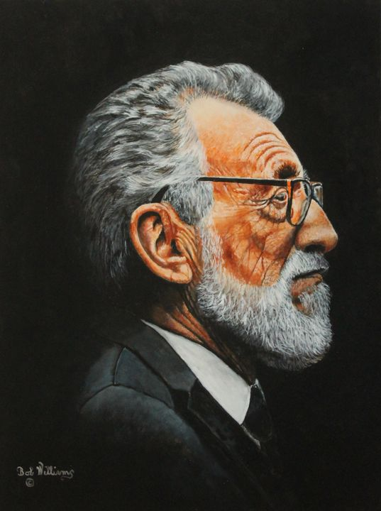 The Elderly Gentleman - Bob Williams Fine Art