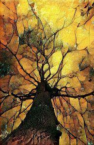 treescape 1b  12 x 18 inch